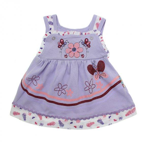 Vestido para Bebê Butterfly