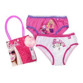 Imagem - Calcinha Infantil Barbie - cod. 7189 - 7189-kit3