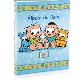 Imagem - Álbum do Bebê Turma da Mônica Baby 120 Fotos 5663 - 5663-cebolinhacascão