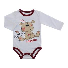 Imagem - Body Bebê para Menino Lapuko - body-ml-ted-vinho-10067