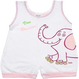 Imagem - Banho de Sol Elefante para Bebe Menina - 4703 - Rosa
