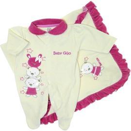 Saída de Maternidade Menina Rosa 5458