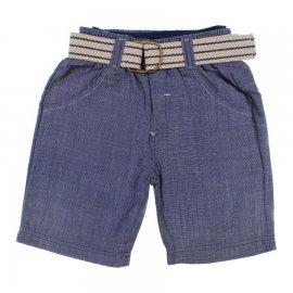 Imagem - Bermuda Jeans Infantil com Cinto - 6345-Maly