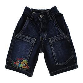Bermuda Jeans Infantil Bordada - 9792