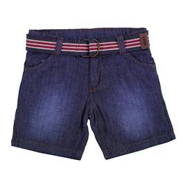 Imagem - Bermuda Jeans Infantil Listrado Menino 8606 - 8606
