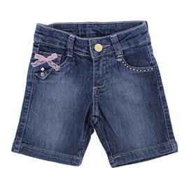 Imagem - Bermuda Jeans Feminina Infantil - 8367