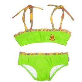 Imagem - Biquini de Bebê Siriri - 5092 -biquini-infantil-verde-babado