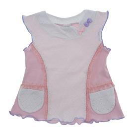 Imagem - Bata Infantil Babadinhos Color Mini - 8750-Bata Infantil Babadinhos