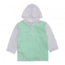 Imagem - Blusa de Moletinho com Capuz - 10134-blusa-moletinho-verde