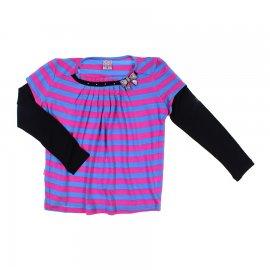 Imagem - Blusa Listrado para Menina Infantil Bonnemini 6796 - 6796
