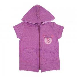 Imagem - Blusa Infantil com Capuz Bonnegirl - 6833-blusa-capuz-bonnegirl-rosa