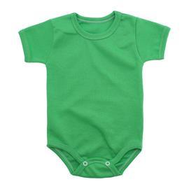 Imagem - Body Bebê Básico Ribana Lapuko - 10091-body-basico-mc-ribana-verde