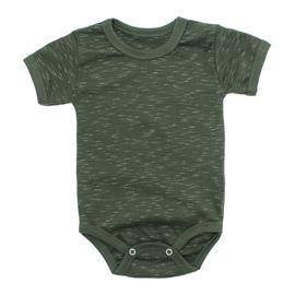 Imagem - Body Bebê Básico Ribana Lapuko - 10091-body-basico-ribana-verde-mesc