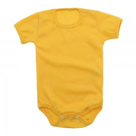 Imagem - Body Bebê Básico Ribana Lapuko - 10091-body-basico-ribana-amarelo-ou
