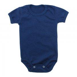 Imagem - Body Bebê Básico Ribana Lapuko - 10091-body-basico-rib-azul-escuro