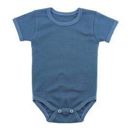 Imagem - Body Bebê Básico Ribana Lapuko - 10091-body-basico-ribana-azulmedio