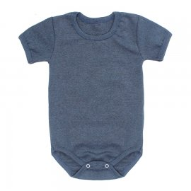 Imagem - Body Bebê Básico Ribana Lapuko - 10091-body-basico-rib-azul-petroleo
