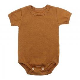 Imagem - Body Bebê Básico Ribana Lapuko - 10091-body-ribana-basico-caramelo