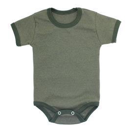 Imagem - Body Bebê Básico Ribana Lapuko - 10091-body-basico-ribana-verde-medi