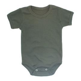 Imagem - Body Bebê Básico Ribana Lapuko - 10091-body-basico-ribana-verde-mili