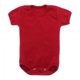 Imagem - Body Bebê Básico Ribana Lapuko - 10091-body-basico-ribana-vermelho