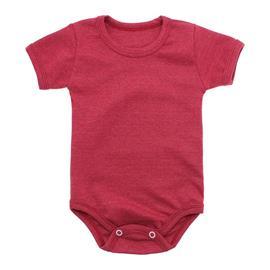 Imagem - Body Bebê Básico Ribana Lapuko - 10091-body-basico-ribana-vermelho-m