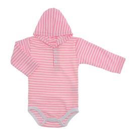 Imagem - Body Bebê com Capuz Atoalhado Lapuko - 10003-body-capuz-atoalhado-rosa