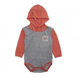 Imagem - Body Bebê com Capuz para Menina Mescla - 10207-body-capuz-mescla-menina-lara