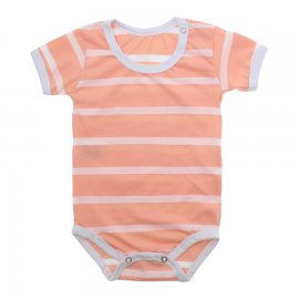 Imagem - Body Bebê em Malha Lapuko - 10184-body-mc-list-pessego
