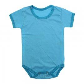 Imagem - Body Bebê em Malha Lapuko - 10184-body-mc-turquesa