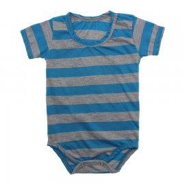 Imagem - Body Bebê em Malha Lapuko - 10184-body-mc-turquesa-mescla