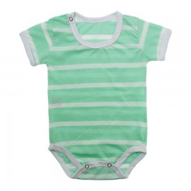 Imagem - Body Bebê em Malha Lapuko - 10184-body-mc-list.verde-bb