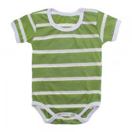 Imagem - Body Bebê em Malha Lapuko - 10184-body-mc-list.-verde-medio