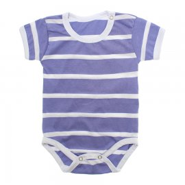 Imagem - Body Bebê em Malha Lapuko - 10184-body-mc-list-roxo