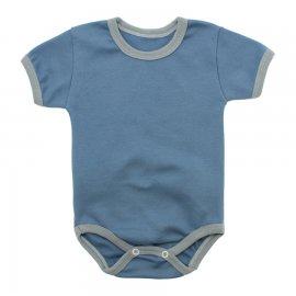 Imagem - Body Bebê em Ribana Lapuko - 10084-body-mc-ribana-azul-medio
