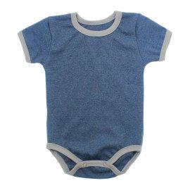 Imagem - Body Bebê em Ribana Lapuko - 10084-body-mc-azul-medio-mescla