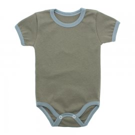 Imagem - Body Bebê em Ribana Lapuko - 10084-body-mc-ribana-caqui