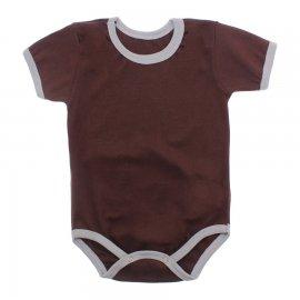 Imagem - Body Bebê em Ribana Lapuko - 10084-body-mc-ribana-chocolate