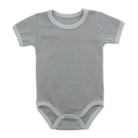 Imagem - Body Bebê em Ribana Lapuko - 10084-body-mc-ribana-cinza