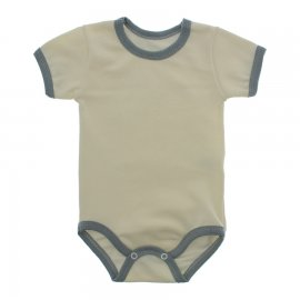 Imagem - Body Bebê em Ribana Lapuko - 10084-body-mc-ribana-creme