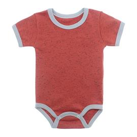 Imagem - Body Bebê em Ribana Lapuko - 10084-body-mc-laranja-mescla