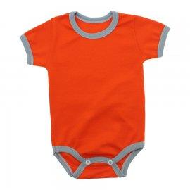 Imagem - Body Bebê em Ribana Lapuko - 10084-body-mc-ribana-laranja-reativ