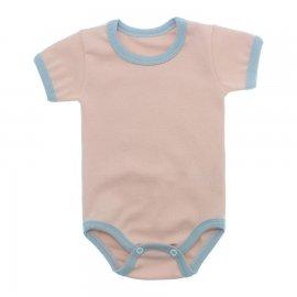 Imagem - Body Bebê em Ribana Lapuko - 10084-body-mc-rib-salmao