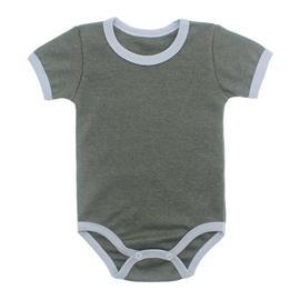 Imagem - Body Bebê em Ribana Lapuko - 10084-body-mc-verde-mescla