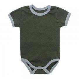 Imagem - Body Bebê em Ribana Lapuko - 10084-body-mc-ribana-verde-militar