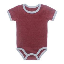 Imagem - Body Bebê em Ribana Lapuko - 10084-body-mc-vermelho-mescla