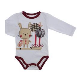 Imagem - Body Bebê para Menina Lapuko - body-ml-coelha-vinho-10067