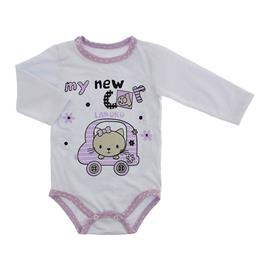 Imagem - Body Bebê para Menina Lapuko - body-ml-gata-lilas-10067