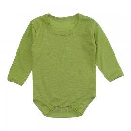Imagem - Body Bebê Manga Longa Lapuko - 10195-body-ml-rib-verde-pistache