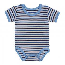 Imagem - Body Bebê  Listrado Lapuko - 10250-body-mc-listrado-azul-royal